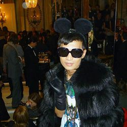 Bryanboy and his Mickey Mouse ears