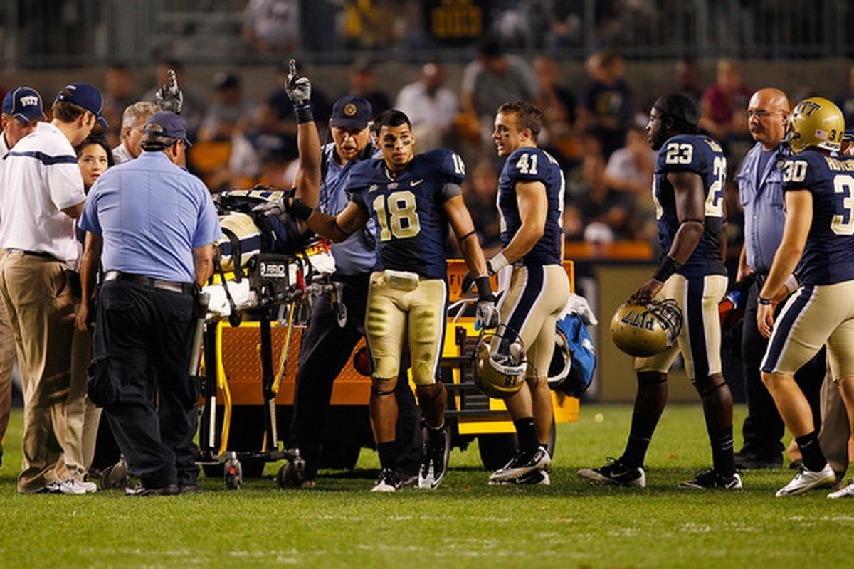 Mason's injury was an ugly one (Photo by Jared Wickerham/Getty Images)