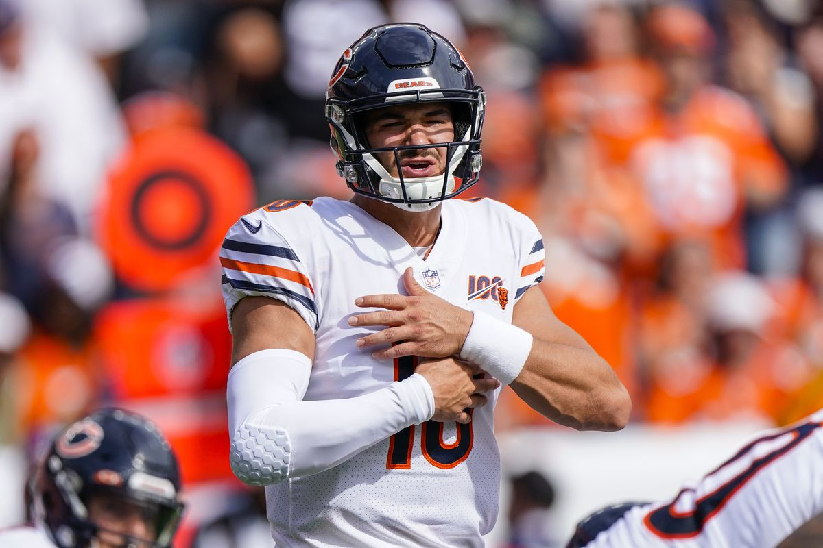 With the Bears' offense struggling, Mitch Trubisky must make better throws