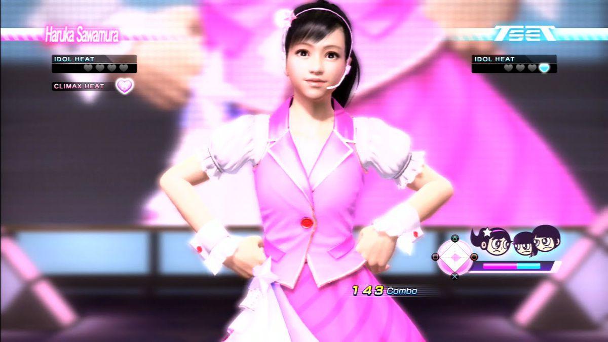 Haruka Sawamura in Yakuza 7
