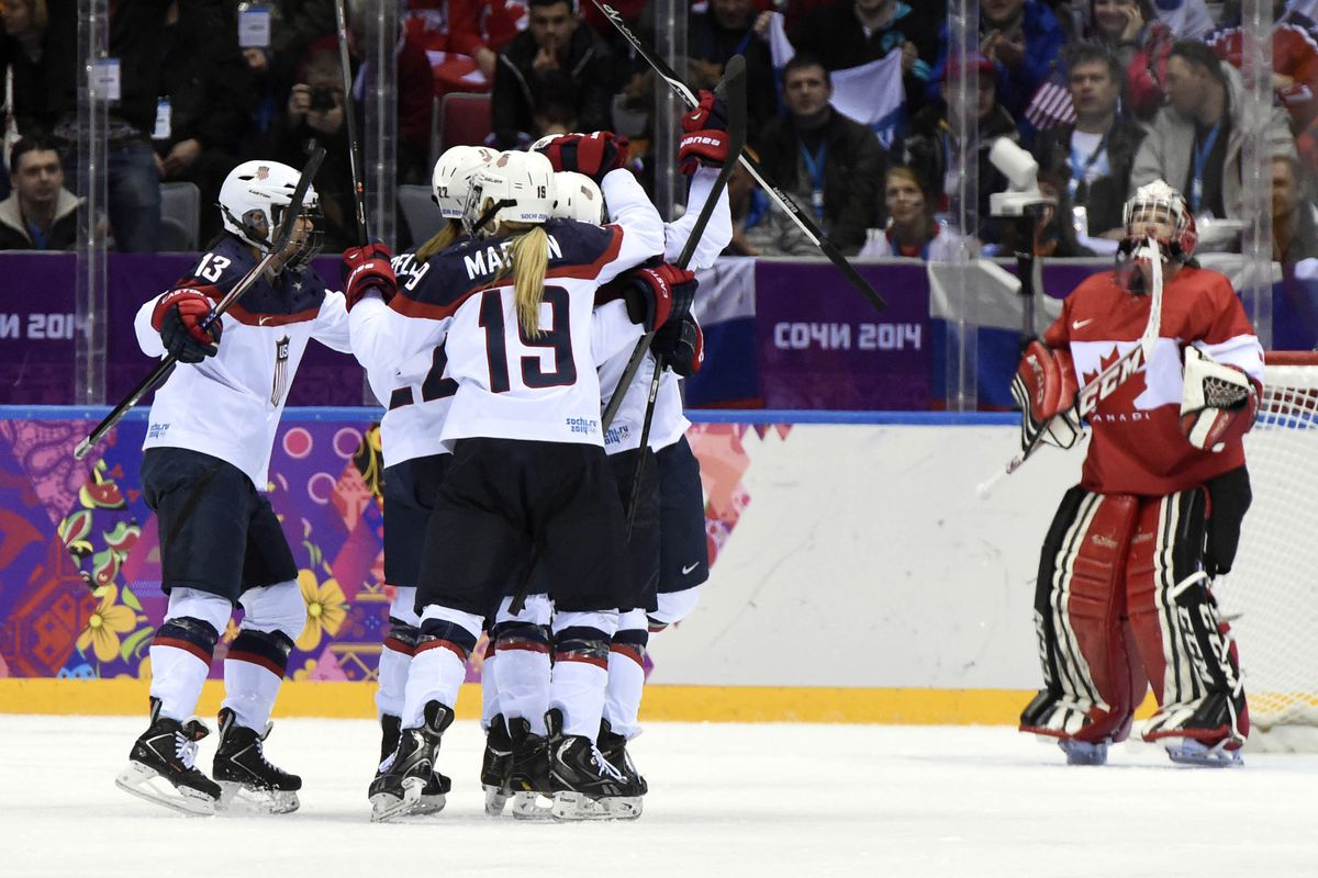 Women's hockey is awesome.