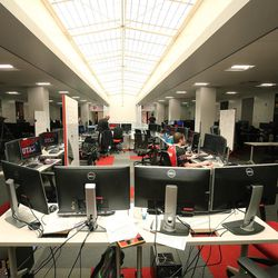 University of Utah students work on projects in Salt Lake City on Wednesday, April 5, 2017. Utah and it's nationally ranked Entertainment Arts & Engineering video game development program announced Wednesday that it is forming the U.'s first college-sponsored varsity esports program.
