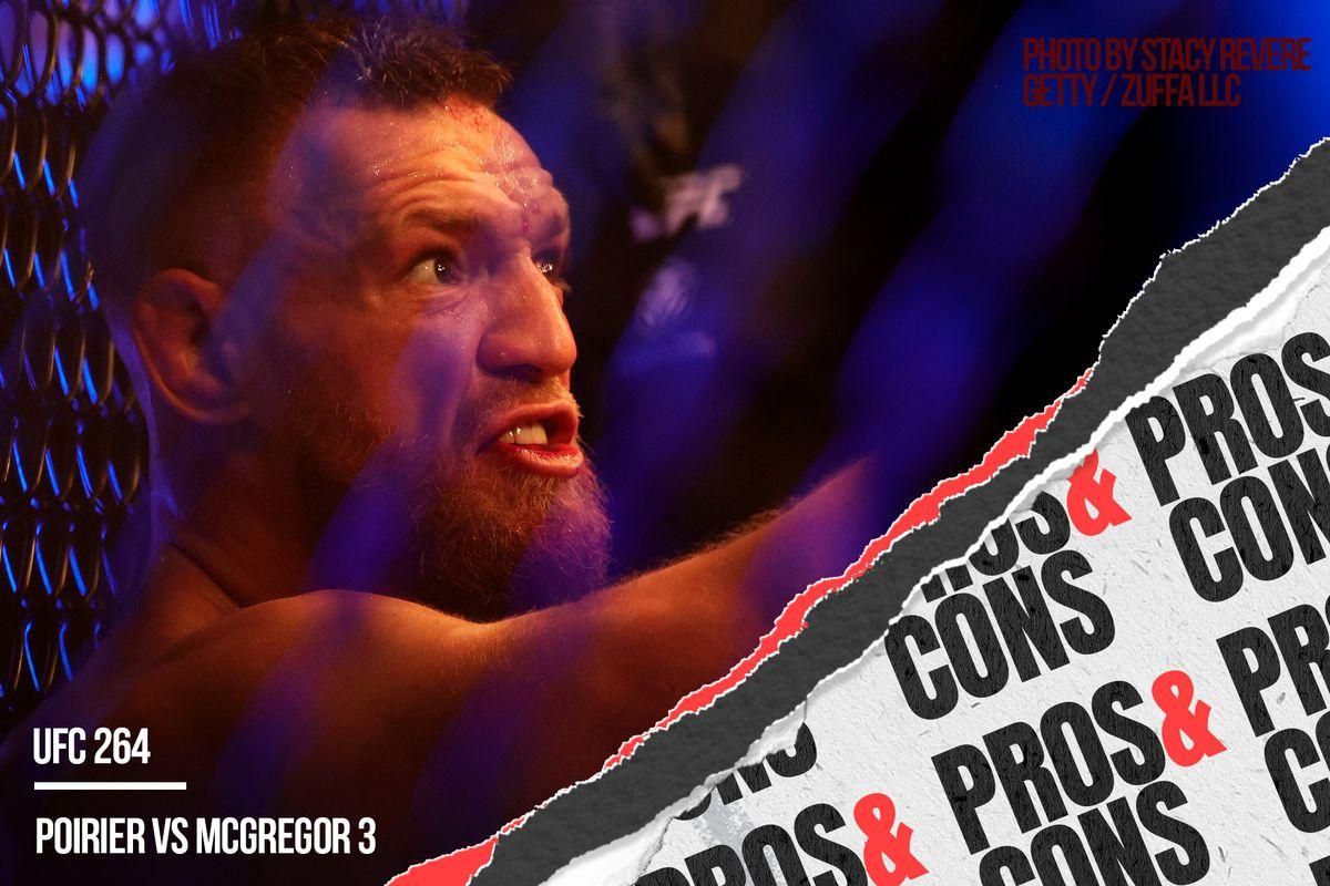 Conor McGregor vs Dustin Poirier 3 immediate twitter analysis.