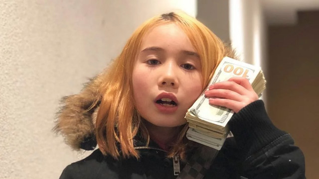 Lil Tay in one of her videos.