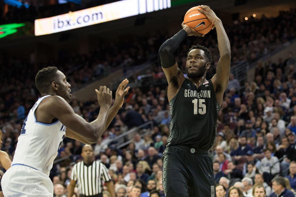 NCAA Basketball: Georgetown at Villanova