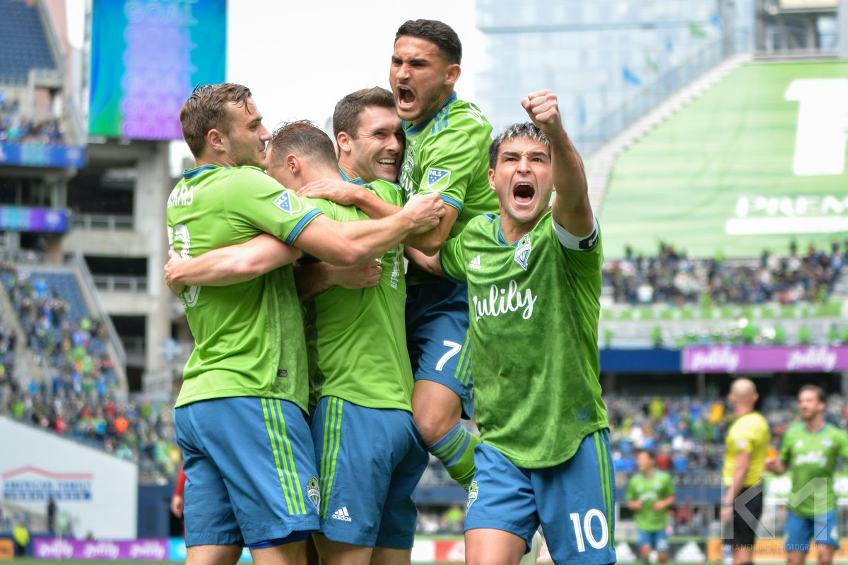 How many points do Sounders need from four-game road trip?