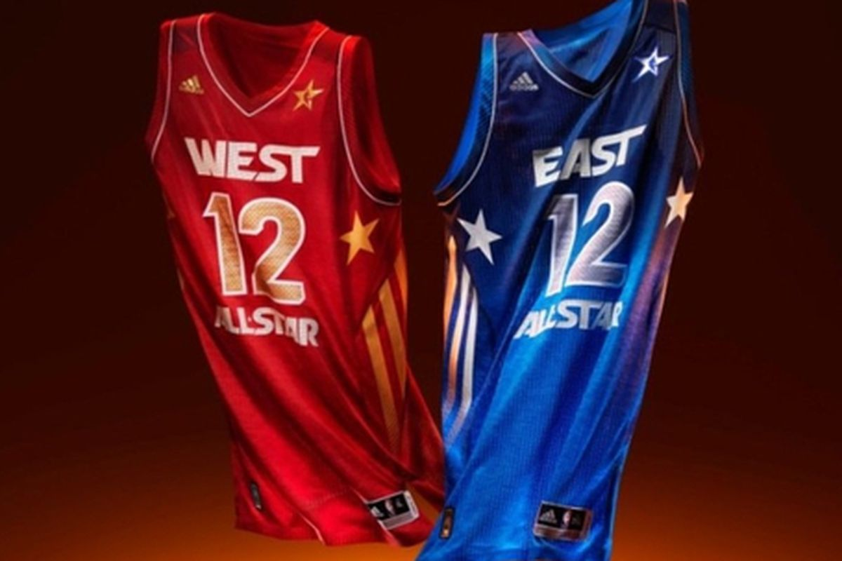 2012 All-Star jersey