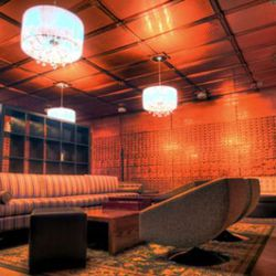 Inside the drinks-only bank vault