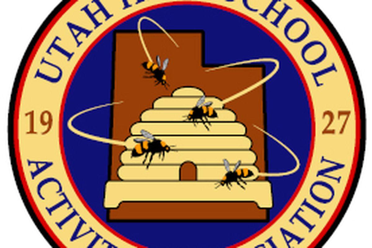 UHSAA logo.