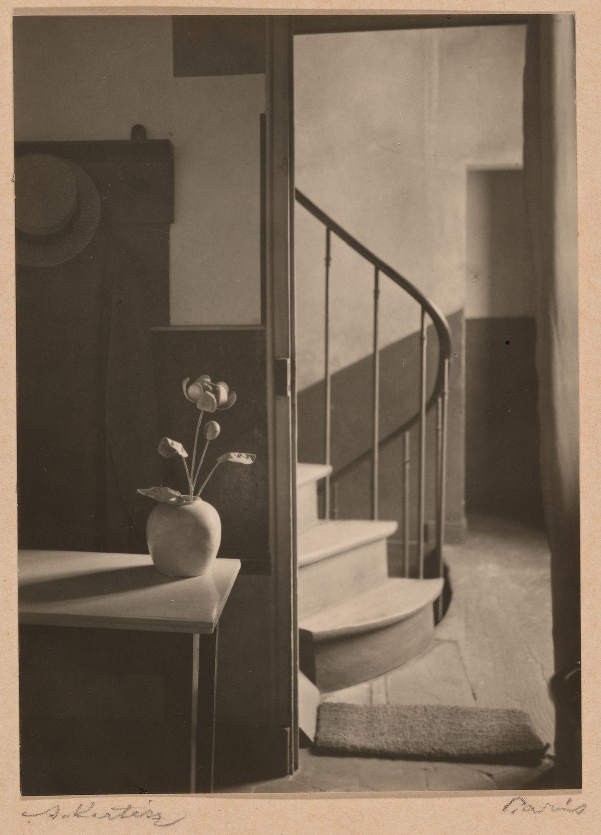 "André Kertész, ""Chez Mondrian,""1926. The Art Institute of Chicago, Julien Levy Collection, gift of Jean and Julien Levy."
