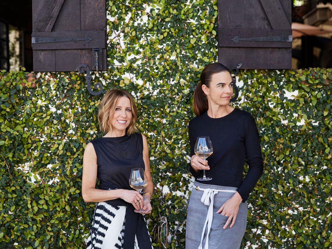 Caroline Styne and Suzanne Goin