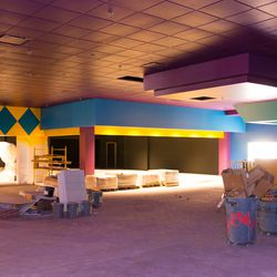The future home of Fun World Games inside John's Incredible Pizza Co.