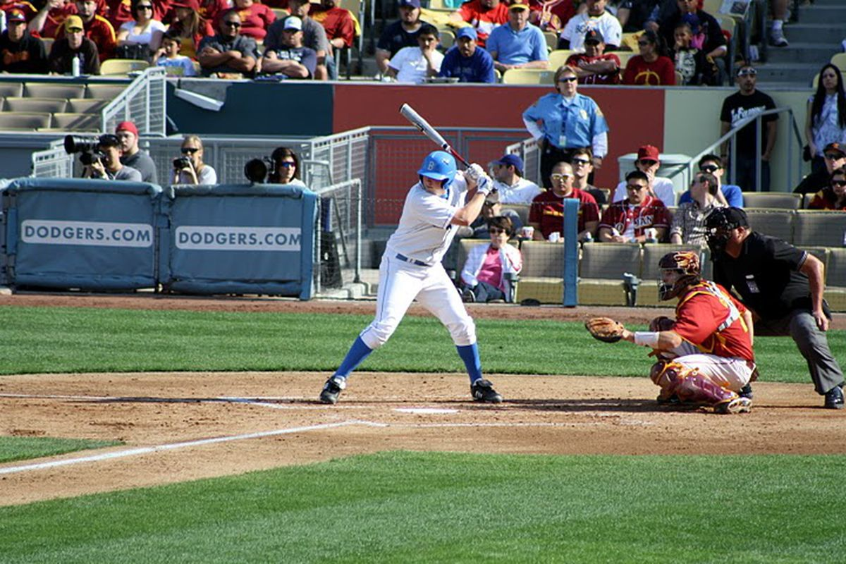 """<em>Hope Bruins can stay focused and locked in against the Defending National Champions: Photo Credit: <a href=""""http://picasaweb.google.com/art.kerdmanee/DodgertownClassic?feat=directlink#5443865712036376018"""" target=""""new"""">Art</a></em>"""