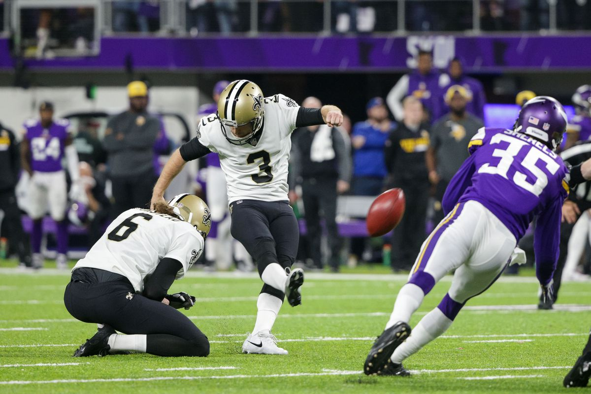 Saints 2017 Year In Review  Wil Lutz – Can He Play Kicker  - Canal ... d7e52fe5d