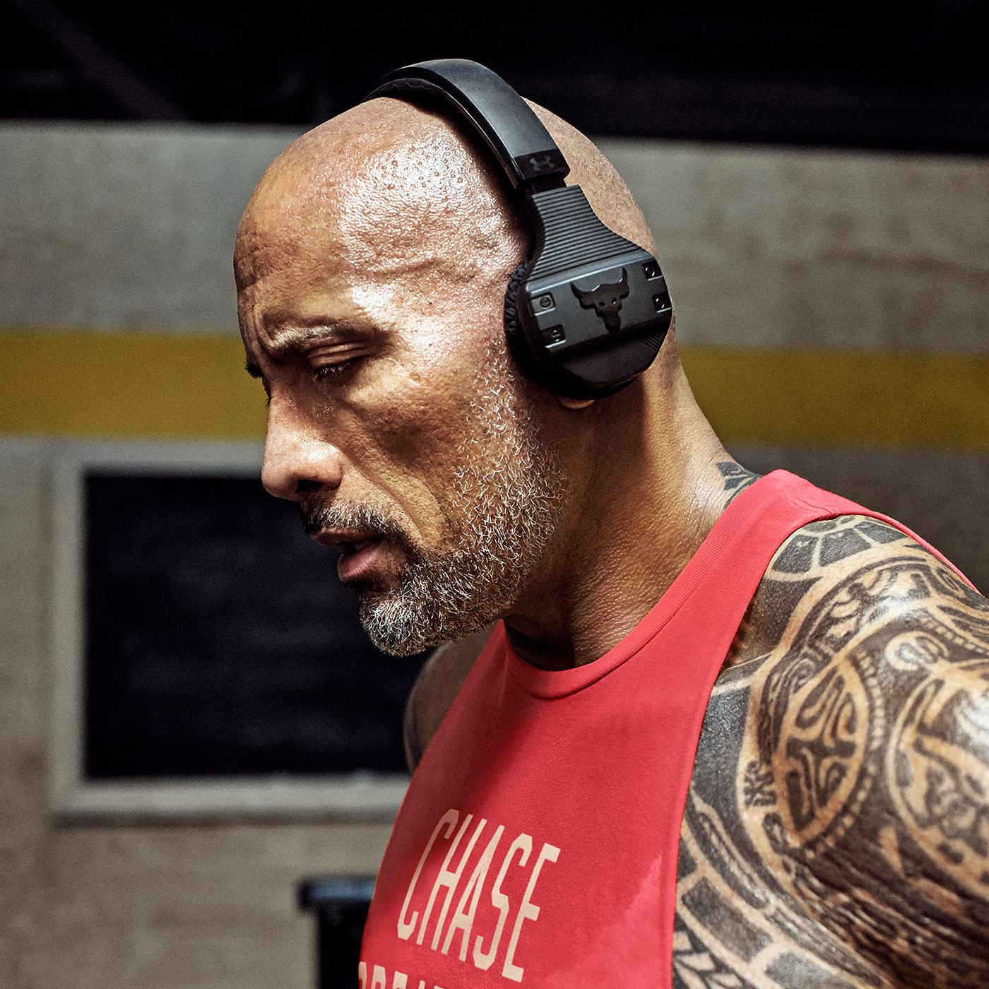 The Rock Launches His Own Sweat Proof Workout Headphones The Verge