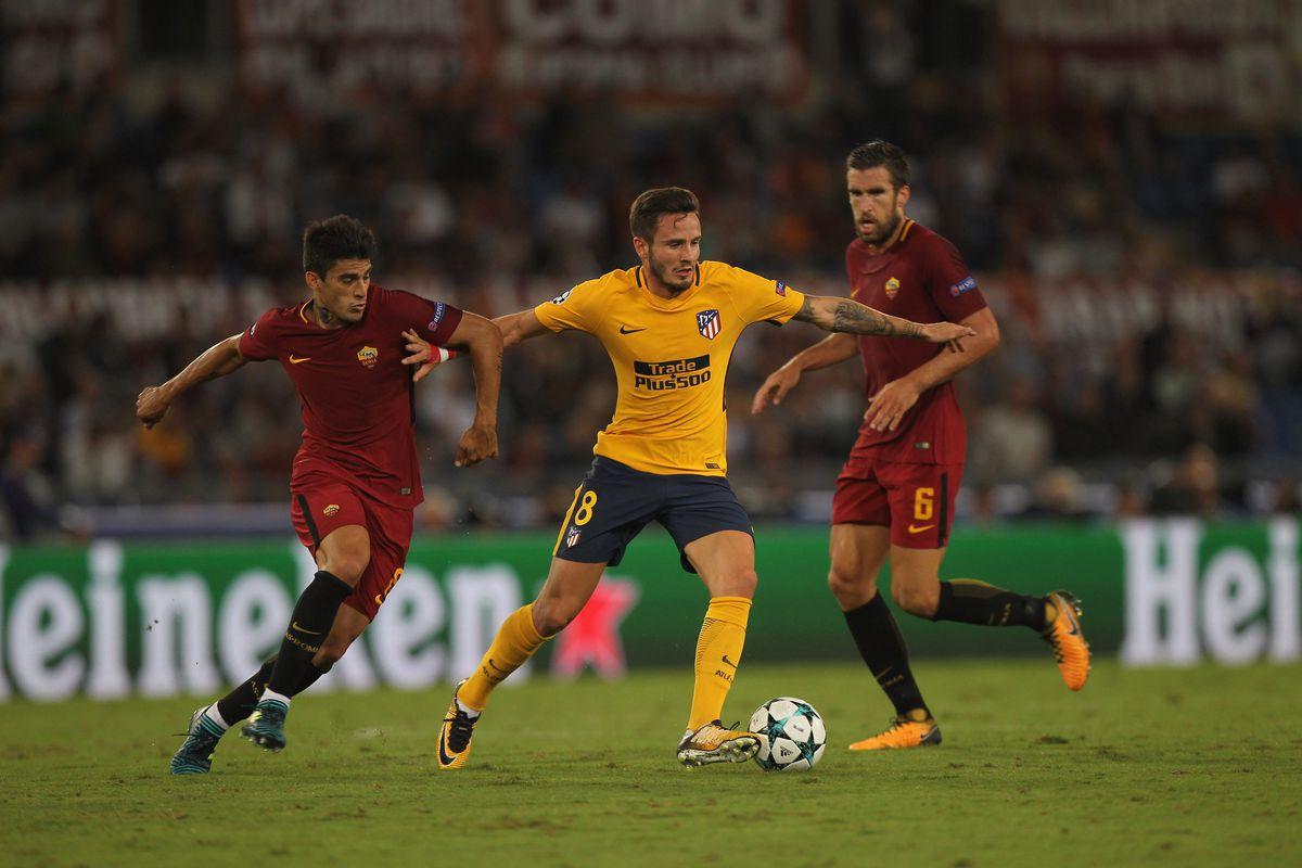 Roma Vs Atletico Madrid