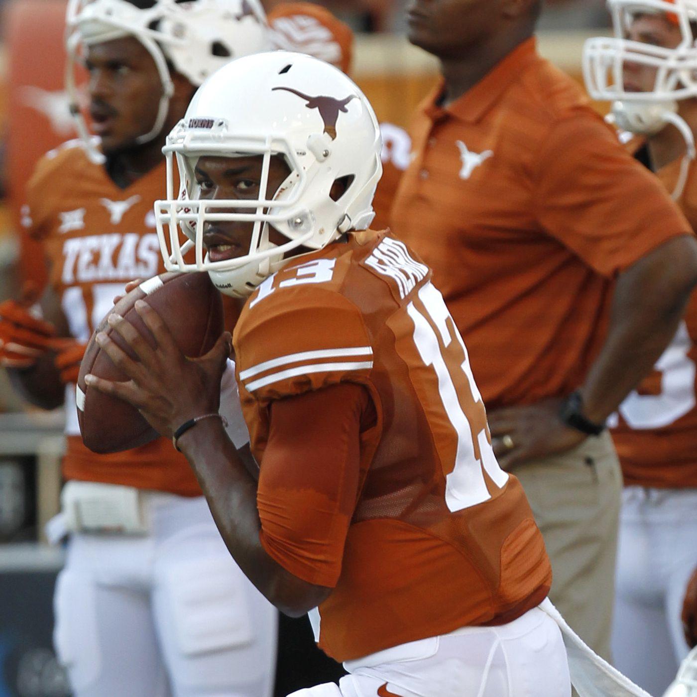 Tyrone Swoopes Texas Longhorns Football Jersey - Orange