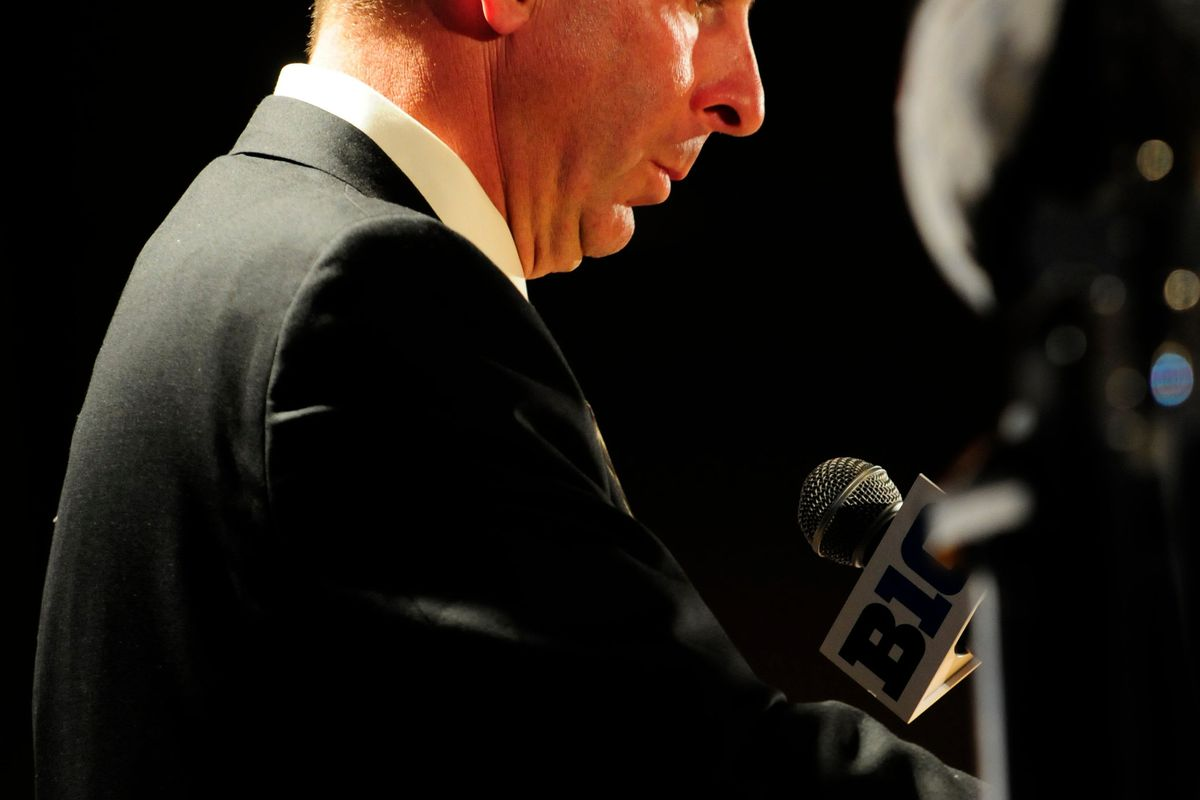 Do you think Bo Pelini really wants Husker fans to be less passionate?  Mandatory Credit: Reid Compton-US PRESSWIRE