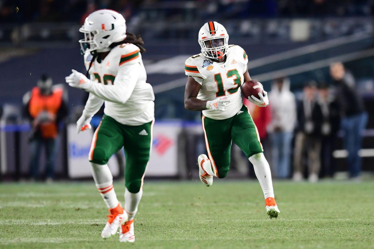 New Era Pinstripe Bowl - Miami v Wisconsin