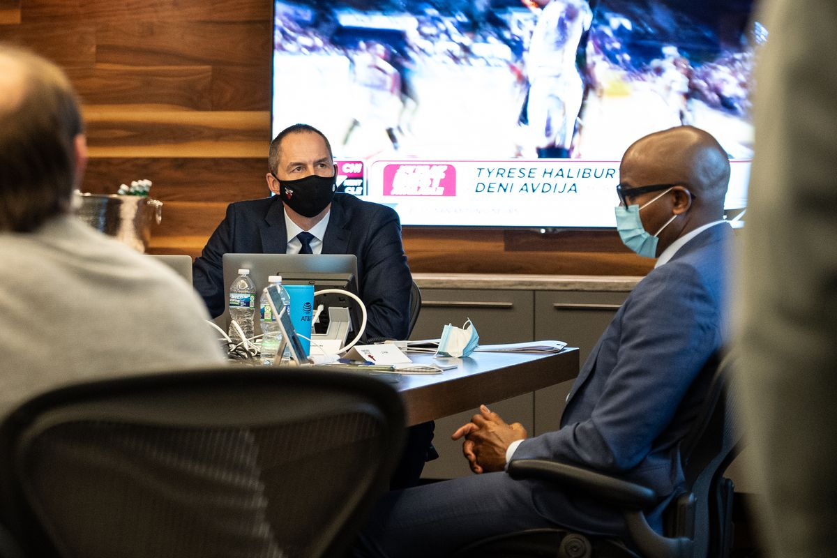 2020 Chicago Bulls NBA Draft Team Operations Room