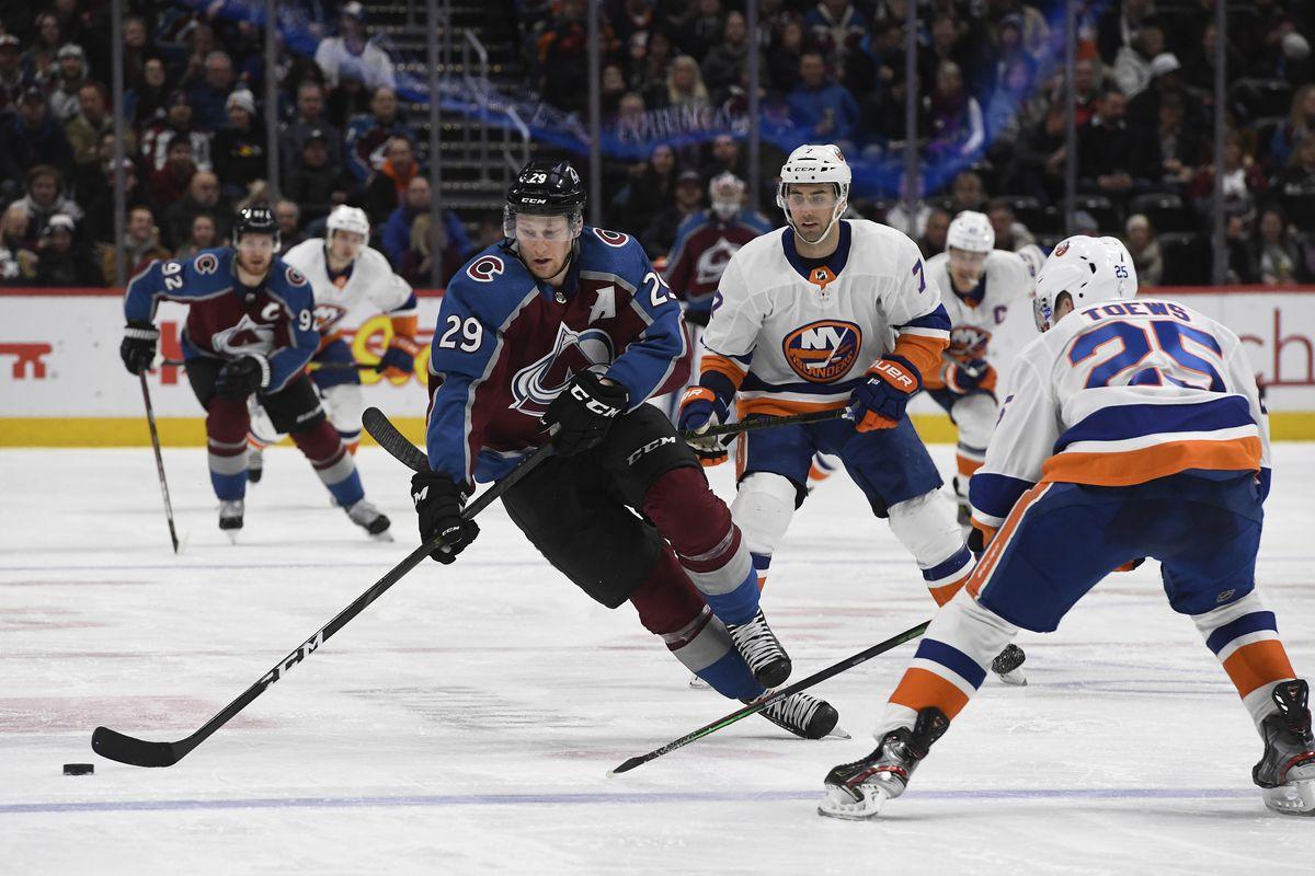Colorado Avalanche vs New York Islanders