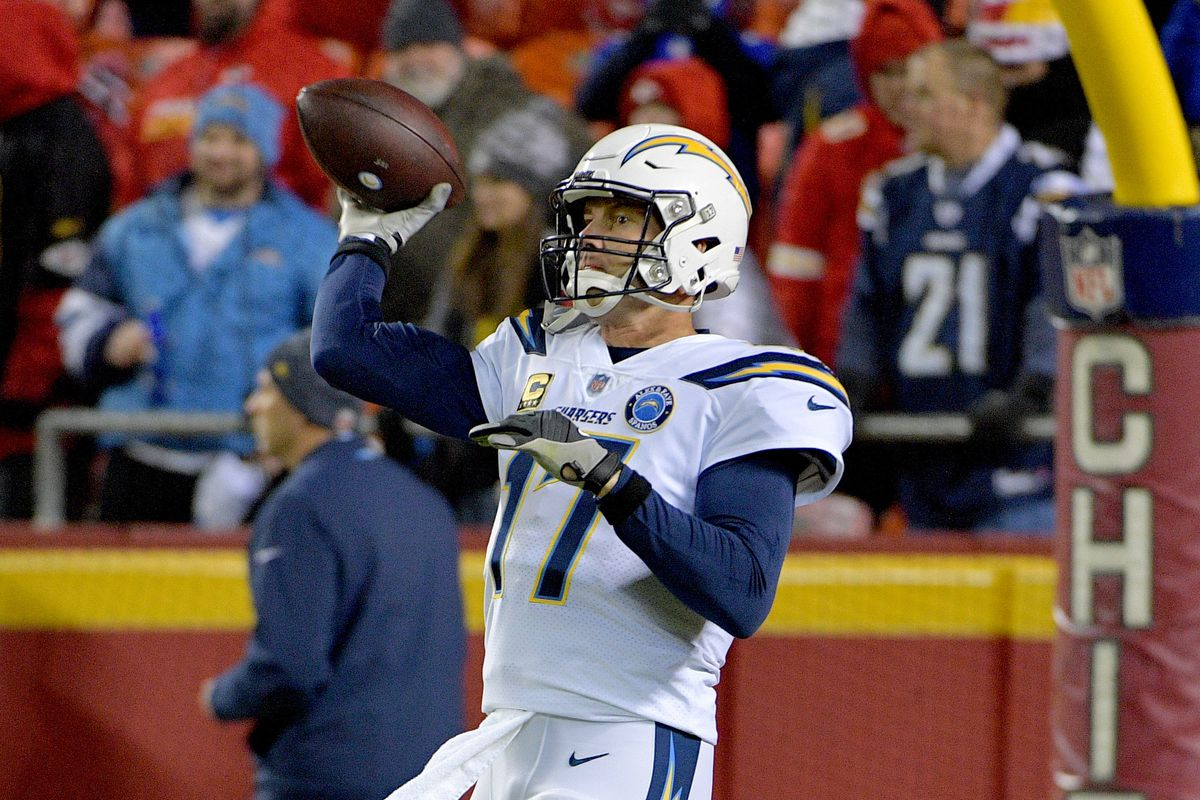 Chargers At Chiefs Inactives Bolts Will Be Without Their