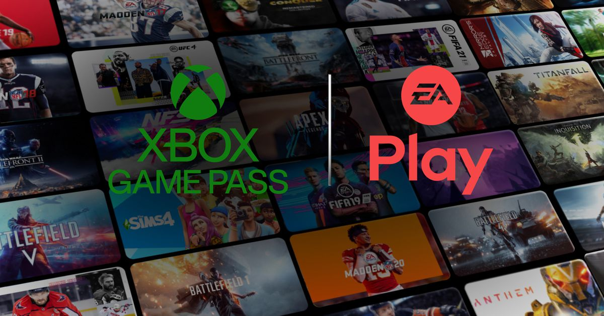 EA Play won't come to Xbox Game Pass for PC until 2021