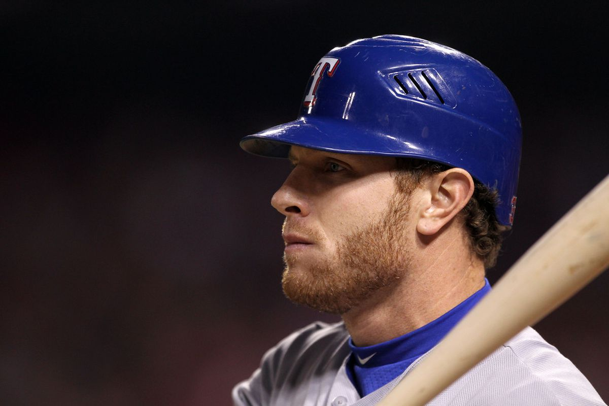 If Texas had signed Torii Hunter, they wouldn't have traded for this guy.  (Photo by Ezra Shaw/Getty Images)