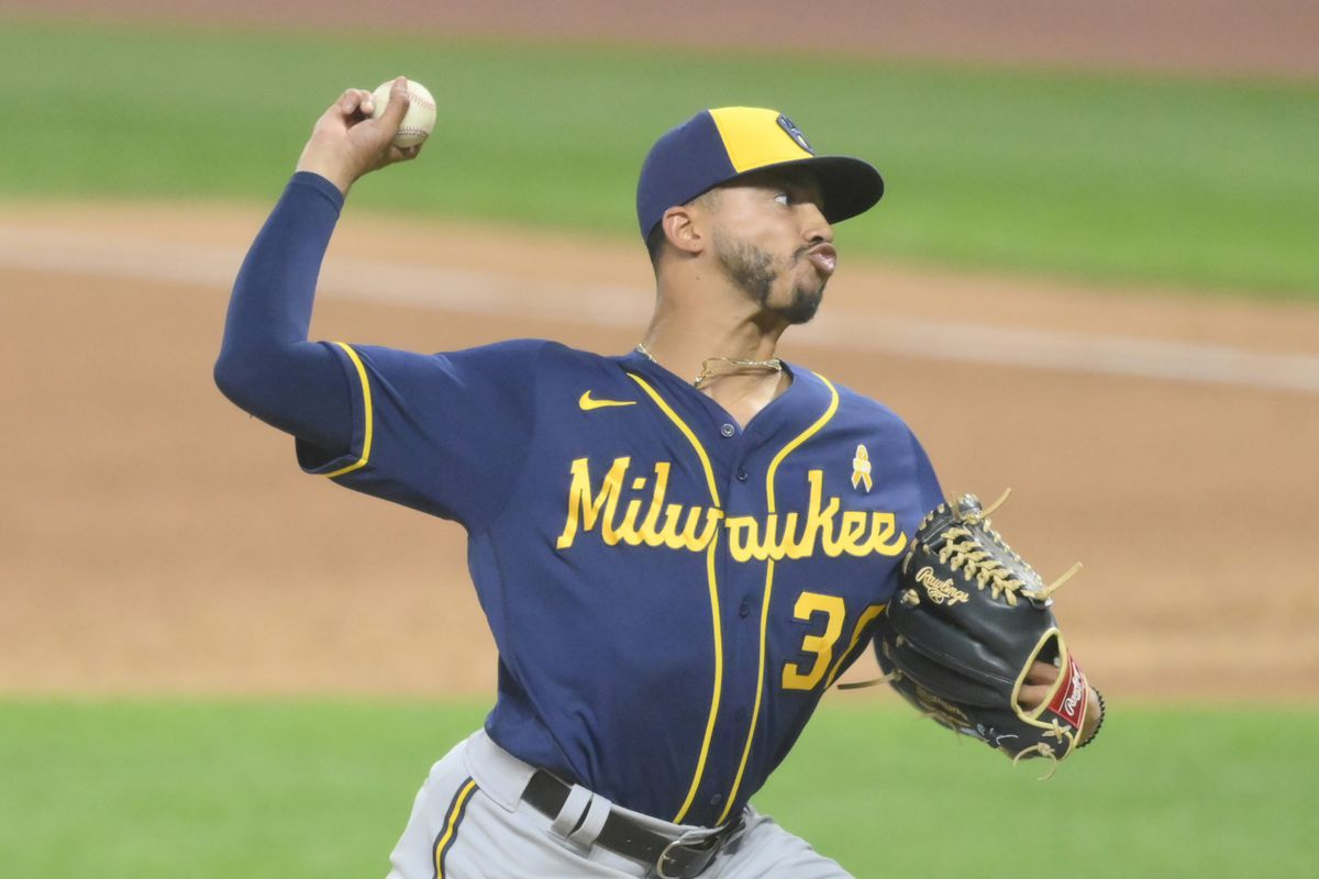 MLB: Milwaukee Brewers at Cleveland Indians