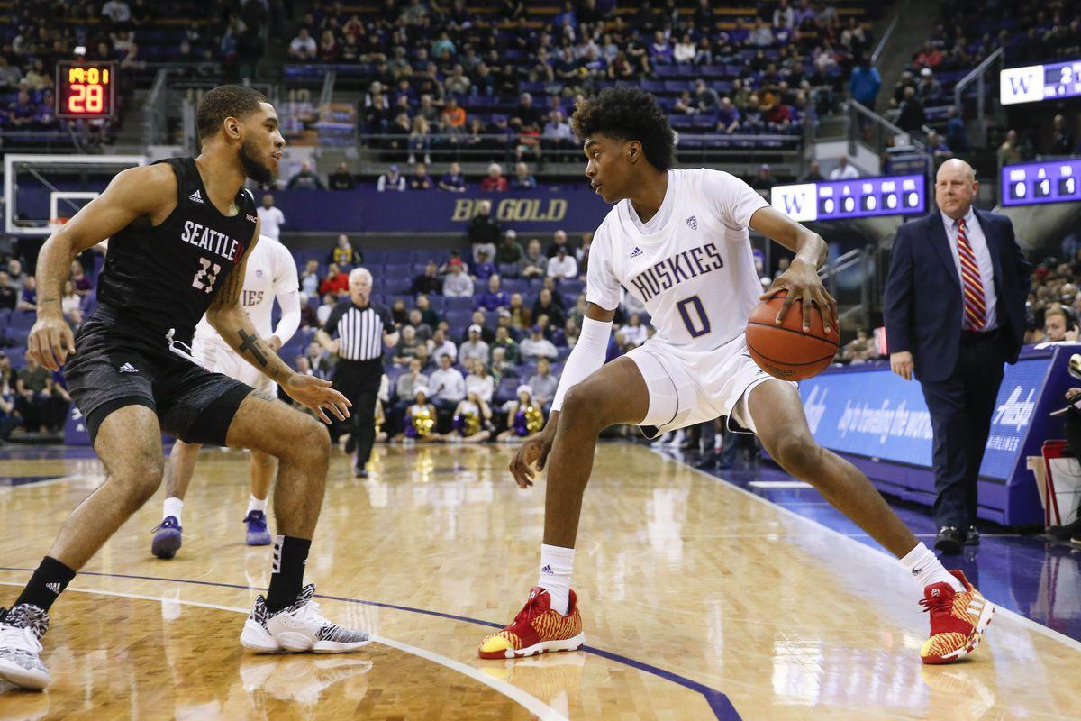 NCAA Basketball: Seattle at Washington