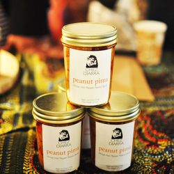 """<a href=""""http://chezdiarra.com/""""><b>Chez Diarra</b></a> sells authentic African hot sauces. (It made us sweat, but was so good.) The Foronta, a Scotch Bonnet-based pepper sauce, is thick like Sriracha, and the Peanut Pima sauce is both sweet and spicy—tha"""