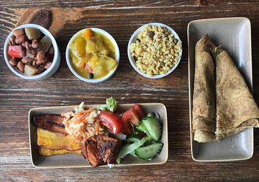 London's best Afro Vegan restaurants: All Nations Vegan House in Dalston