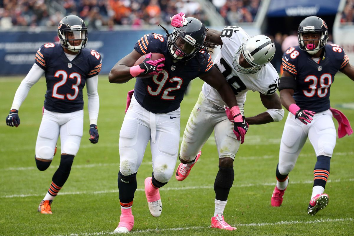 Bears' Pernell McPhee progressing in recovery from knee surgery