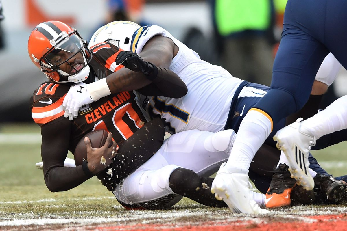 NFL: San Diego Chargers at Cleveland Browns