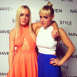 Naven designers/twins/babes Alexis and Kymberly McClay