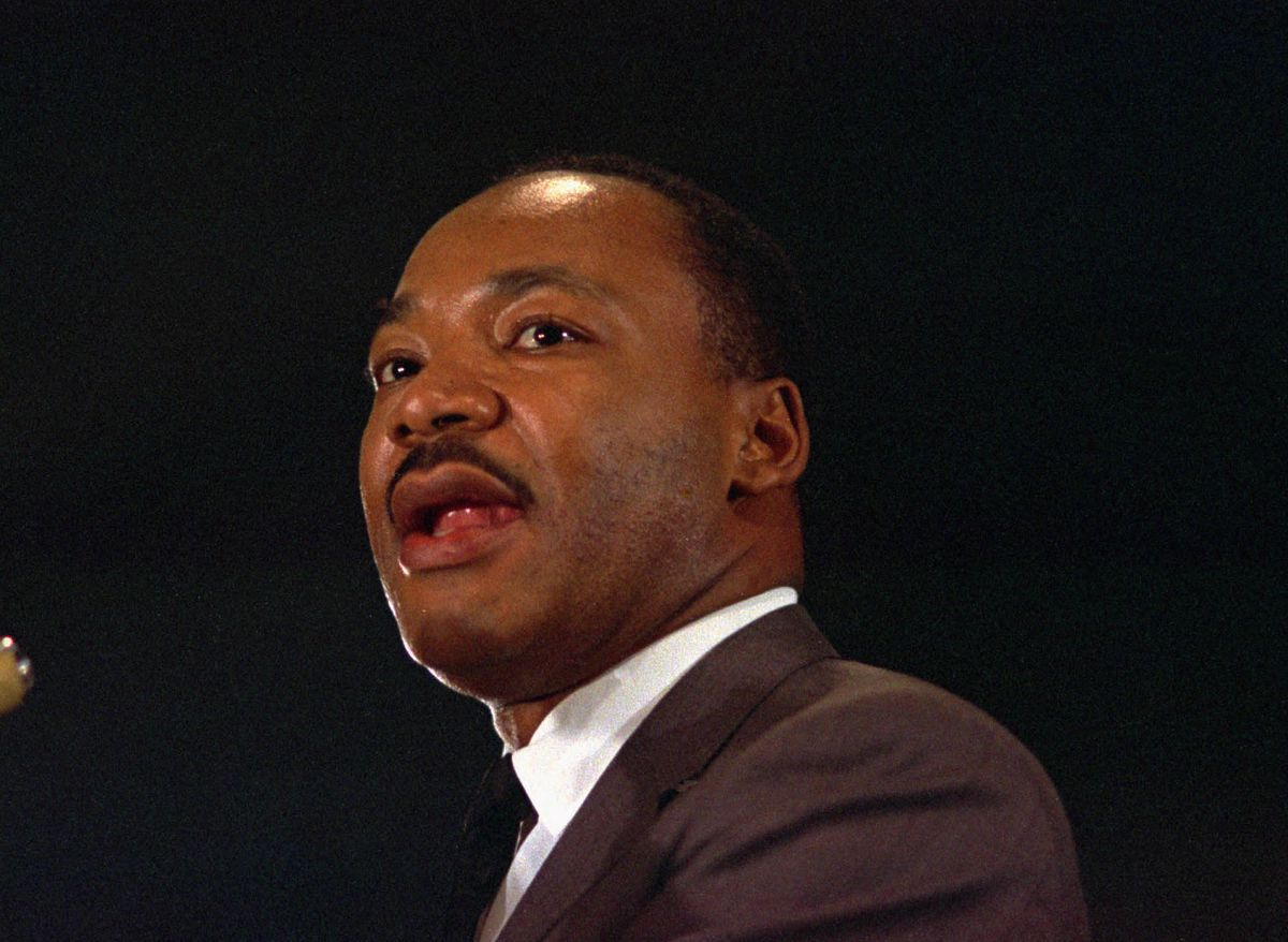 The Rev. Martin Luther King, Jr. in 1967, the year before he was shot to death.