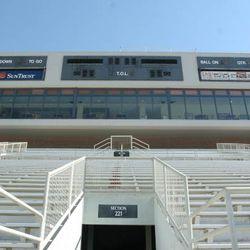 <strong>2006- Inside Doak Campbell Stadium</strong>