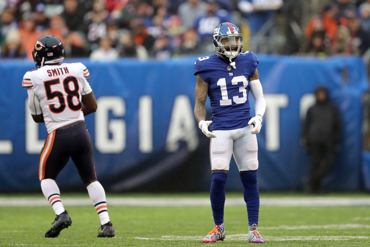 Chicago Bears v New York Giants