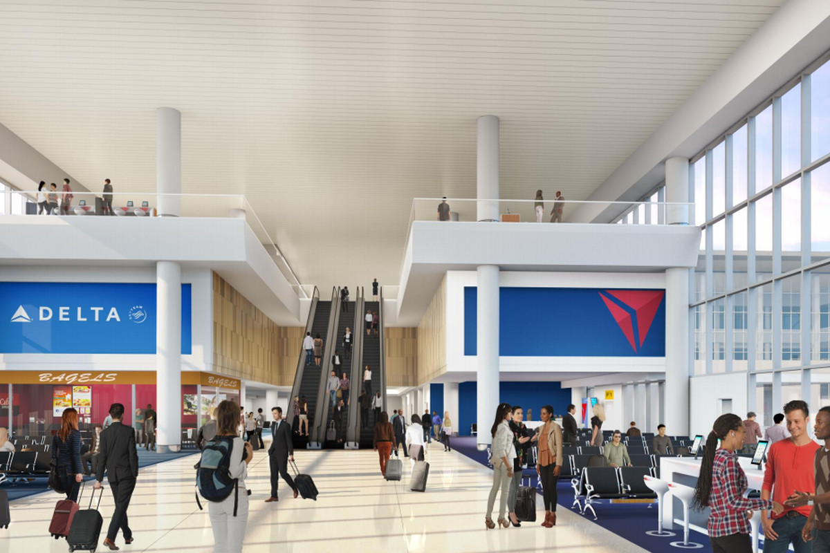LaGuardia Airports new Delta terminals get renderings  Curbed NY