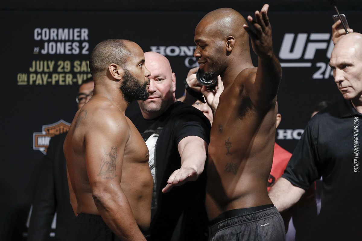 Daniel Cormier, Jon Jones will never be friends but both admit mutual respect for each other - MMA Fighting