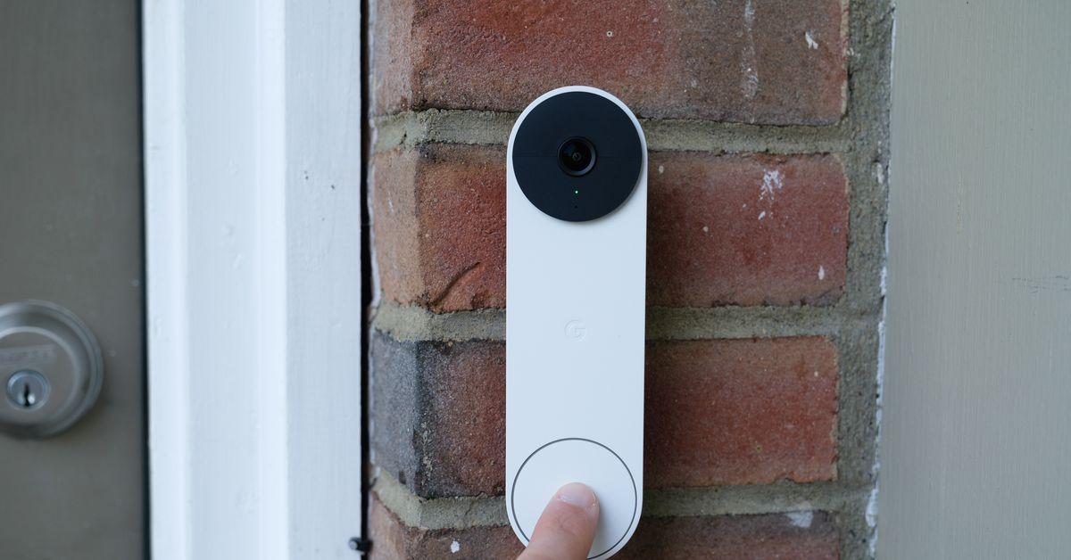 The Google Nest doorbell is getting a Halloween ringtone update