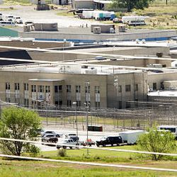 Inmates were placed on lockdown Thursday at the Utah State Prison in Draper prior to Ronnie Lee Gardner's execution.
