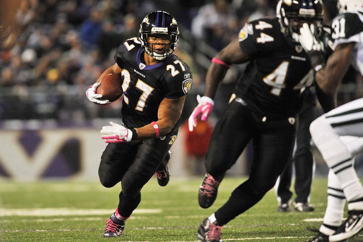 Will Ray Rice play Thursday night against the Buccaneers?