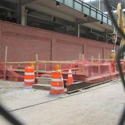 5:04 p.m. Utility excavation work on Waveland -