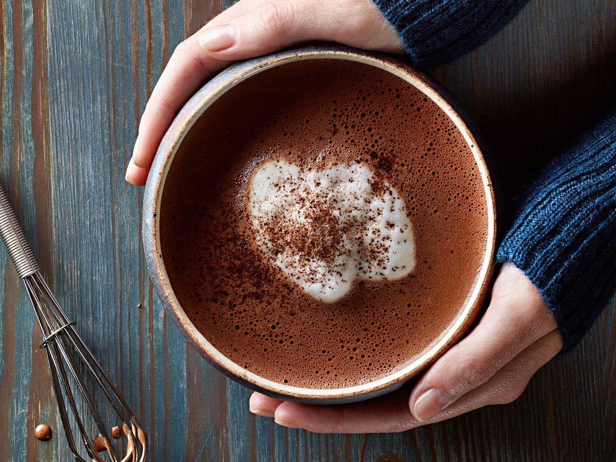 L.A. Burdick's hot chocolate