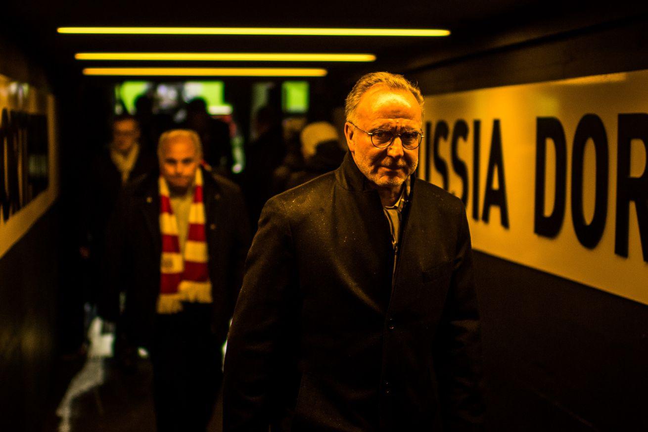 Karl-Heinz Rummenigge says Bayern Munich is ready to take on Borussia Dortmund