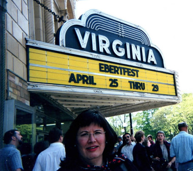 Through her role at American Airlines, Mary Frances Fagan helped arrange travel for stars, directors and writers who flew to Champaign to attend Roger Ebert's film festival at the Virginia Theatre. | Provided photo