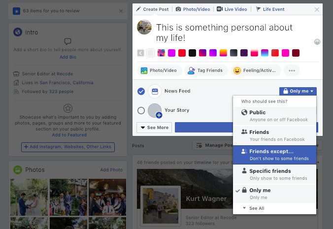 Facebook needs a 'reset' button for your friend list - Vox
