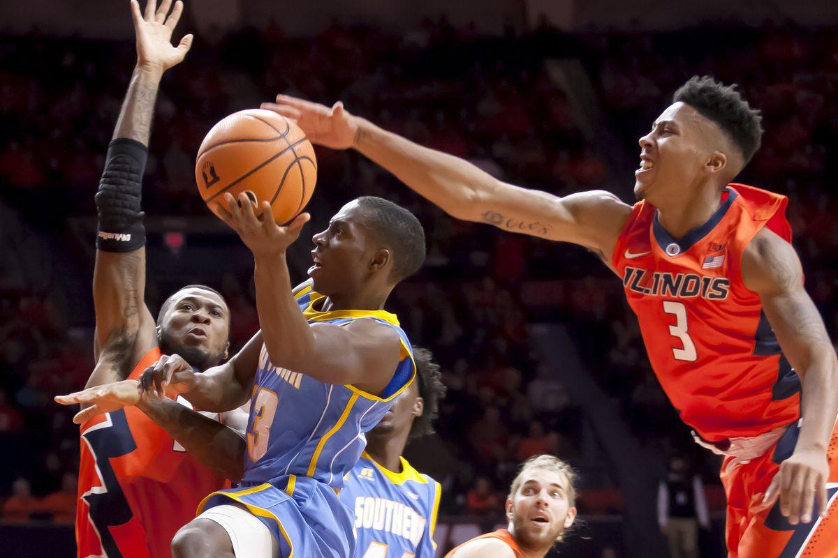 NCAA Basketball: Southern at Illinois