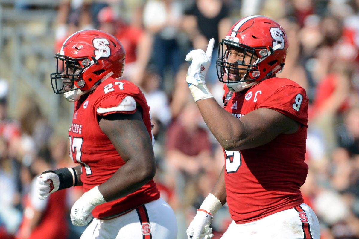 Is The 2017 Nc State Defensive Line The Best In Wolfpack History